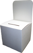 "6""wide Ballot Box"