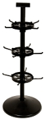 "Triple Tier Spinner with 23"" Pole & 5"" Disks"