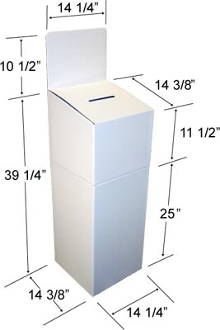 Floor Ballot Box