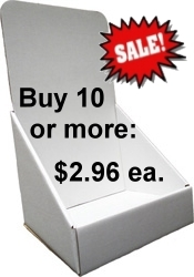 "8 3/4""wide Brochure Holder in White"